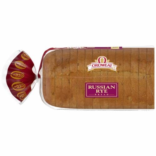 Oroweat Russian Rye Bread Perspective: left