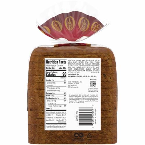 Oroweat Jewish Rye Bread Perspective: left