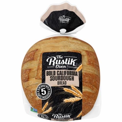 The Rustik Oven Bold California Sourdough Bread Perspective: left