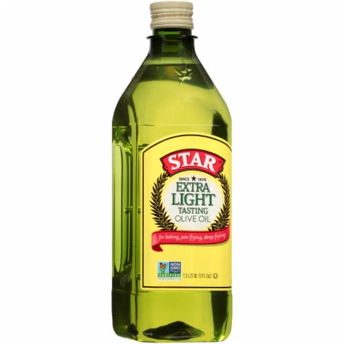 Star Extra Light Olive Oil Perspective: left