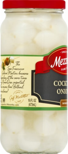 Mezzetta Imported Cocktail Onions Perspective: left