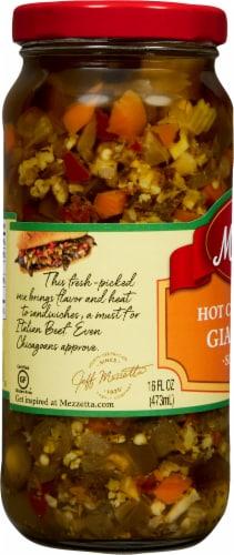 Mezzetta Hot Giardiniera Italian Sandwich Mix Perspective: left