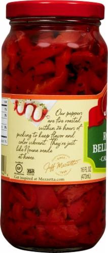 Mezzetta Deli-Sliced Roasted Bell Pepper Strips Perspective: left
