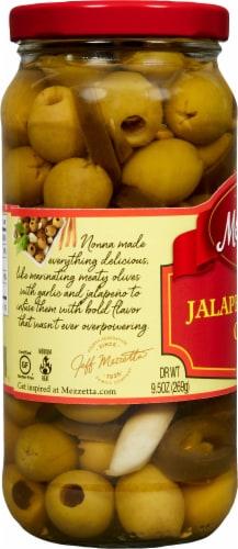 Mezzetta Jalapeno Garlic Olives Perspective: left