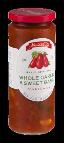 Mezzetta Whole Garlic & Sweet Basil Marinara Sauce Perspective: left