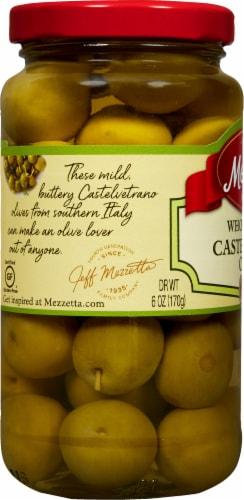 Mezzetta Italian Castelvetrano Whole Green Olives Perspective: left