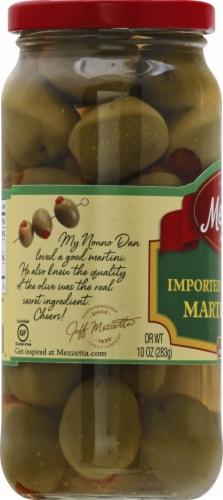 Mezzetta Imported Spanish Queen Martini Olives Perspective: left