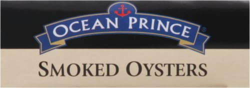 Ocean Prince Smoked Oysters With Red Chili Pepper Perspective: left
