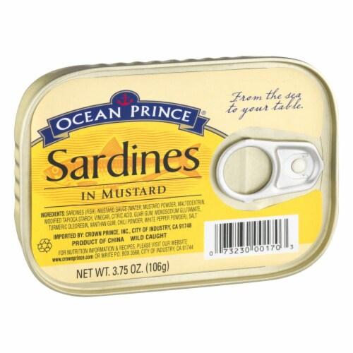 Ocean Prince Sardines in Mustard Perspective: left