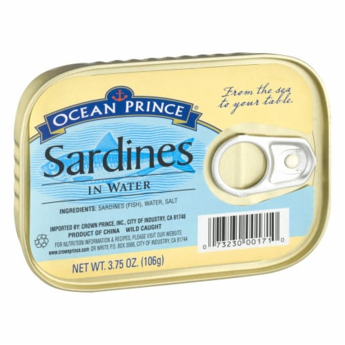 Ocean Prince Sardines in Water Perspective: left