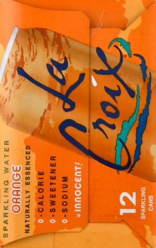 LaCroix Orange Sparkling Water Perspective: left