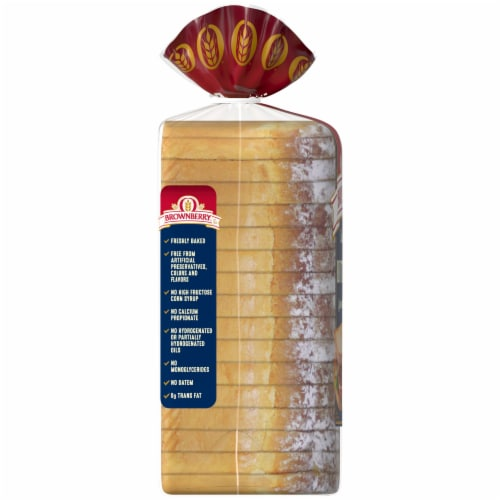 Brownberry Country Buttermilk Sliced Bread Perspective: left