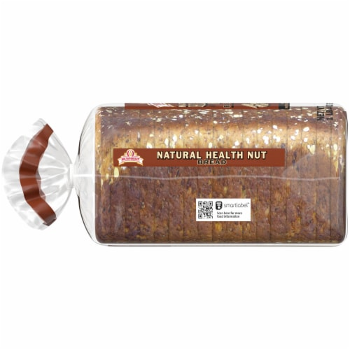 Brownberry Natural Health Nut Bread Perspective: left