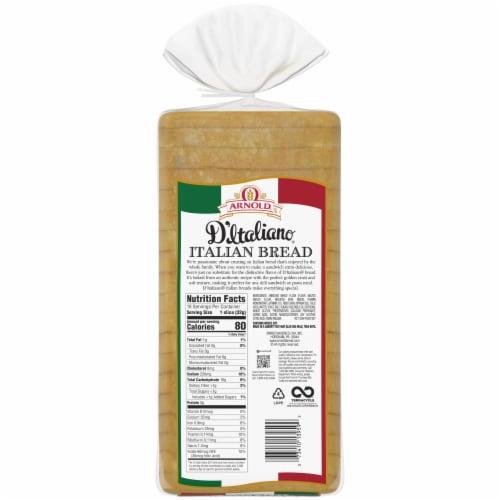 Arnold Premium Italian Sliced Bread Perspective: left