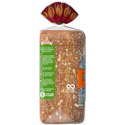 Arnold® Organic 100% Whole Grain Bread Perspective: left