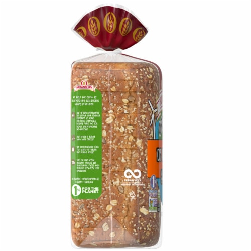 Brownberry Organic 100% Whole Grain Bread Perspective: left