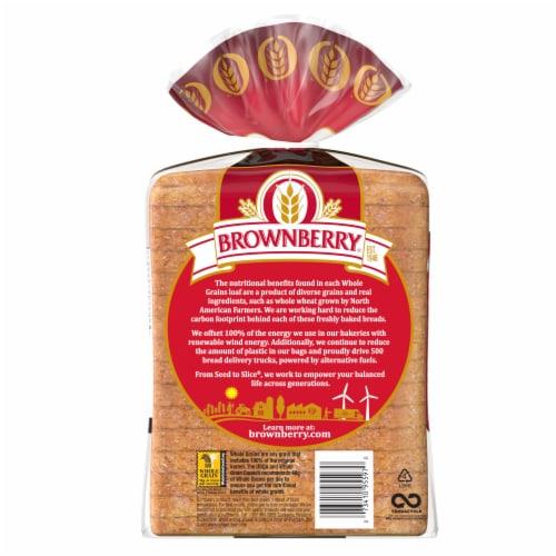 Brownberry Whole Grains 12 Grain Bread Perspective: left