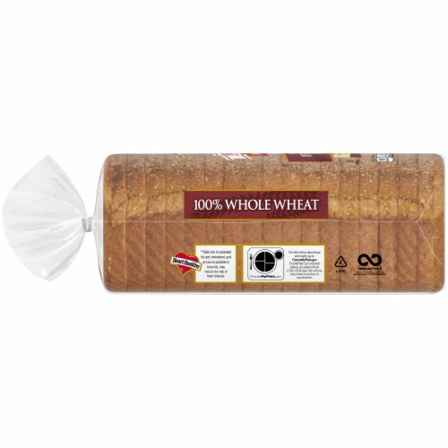 Brownberry Dutch Country 100% Whole Wheat Bread Perspective: left