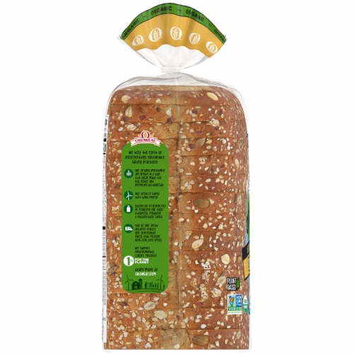 Oroweat Organic Open Faced Seeds The Day Bread Perspective: left