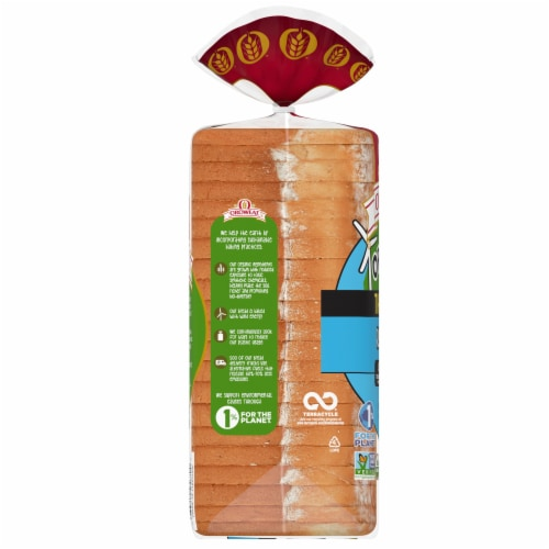 Oroweat Organic Thin Sliced Rustic White Bread Perspective: left