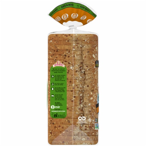 Brownberry Organic Thin-sliced Sprouted Wheat Bread Perspective: left