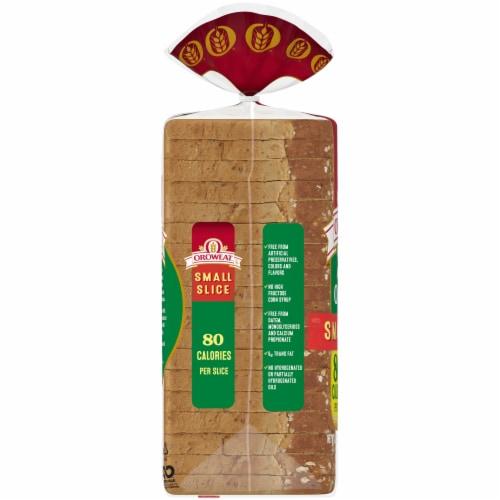 Oroweat Small Slice Oatnut Bread Perspective: left
