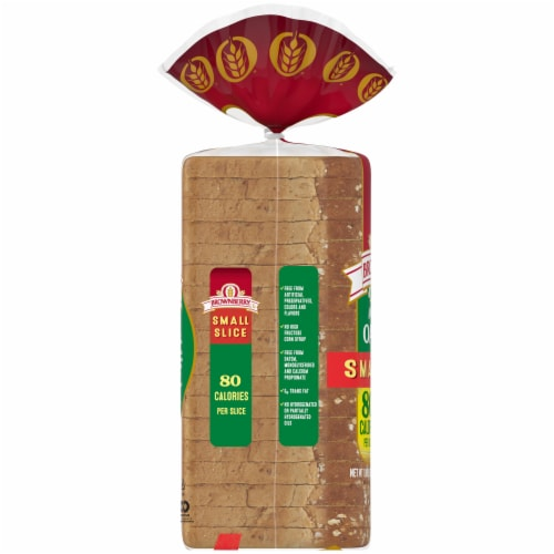 Brownberry Small Slice Oatnut Bread Perspective: left