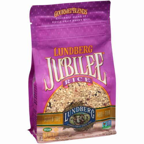 Lundberg Jubilee Whole Grain Brown Rice Perspective: left