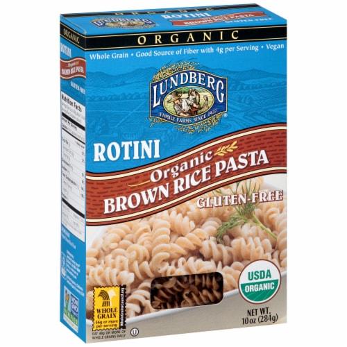 Lundberg Organic Rotini Brown Rice Pasta Perspective: left