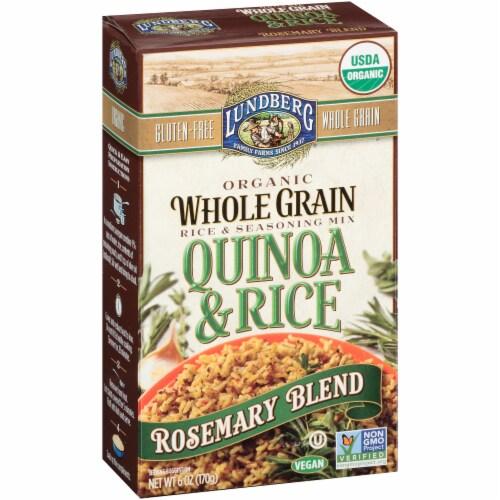 Lundberg Organic Rosemary Whole Grain Quinoa & Rice Blend Perspective: left