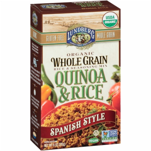 Lundberg Organic Spanish Style Quinoa & Rice Blend Perspective: left