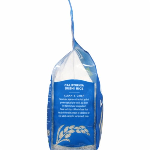Lundberg Organic California Sushi Rice Perspective: left