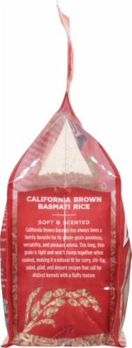 Lundberg Organic California Brown Basmati Whole Grain Rice Perspective: left