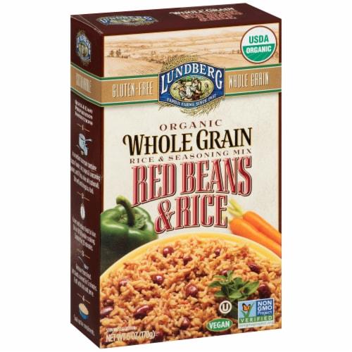 Lundberg Organic Red Beans & Rice Seasoning Mix Perspective: left