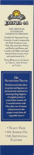 Food For Life Organic Ezekiel 4:9 Golden Flax Cereal Perspective: left