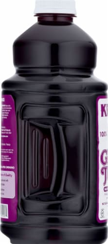 Kedem Concord Grape Juice Perspective: left