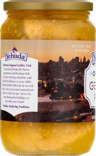 Yehuda Original Gefilte Fish Perspective: left