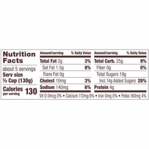 Kozy Shack Gluten Free Original Recipe Tapioca Pudding Perspective: left