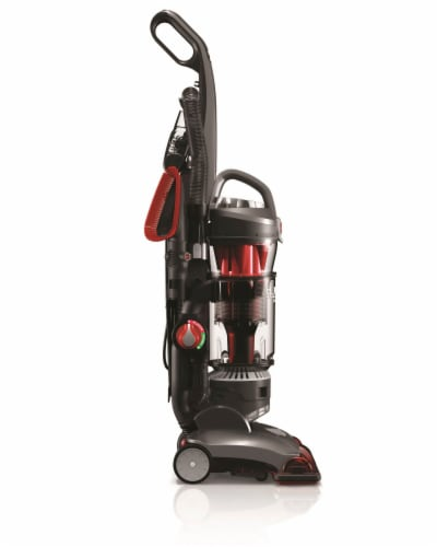 Hoover® WindTunnel 3 High Performance Pet Vacuum - Red/Black Perspective: left