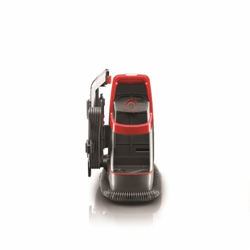 Hoover® Spotless Spot Cleaner - Red/Silver Perspective: left