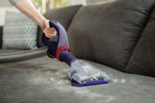 Hoover® PowerDrive™ Pet Upright Vacuum - Purple Perspective: left