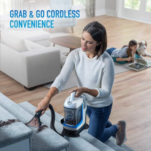 Hoover One Power Spotless Go Cordless Carpet Cleaner Perspective: left