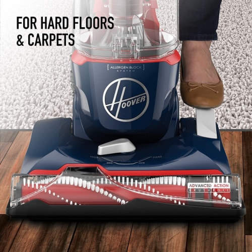 Hoover® Pet Max Bagless Upright Vacuum With Attachments Perspective: left