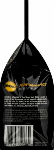 Miracle-Gro Performance Organics All Purpose Plant Nutrition Granules Perspective: left