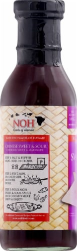 NOH Chinese Sweet & Sour Cooking Sauce & Marinade Perspective: left