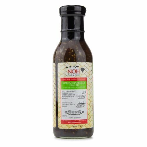 NOH Korean Barbecue (Kalbi) Cooking Sauce & Marinade Perspective: left