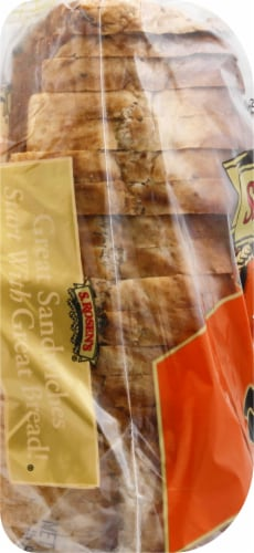 S. Rosen's Swirled Marble Rye Bread Perspective: left