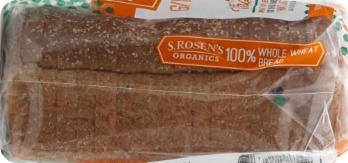 S. Rosen's Giving It 100% Whole Wheat Bread Perspective: left