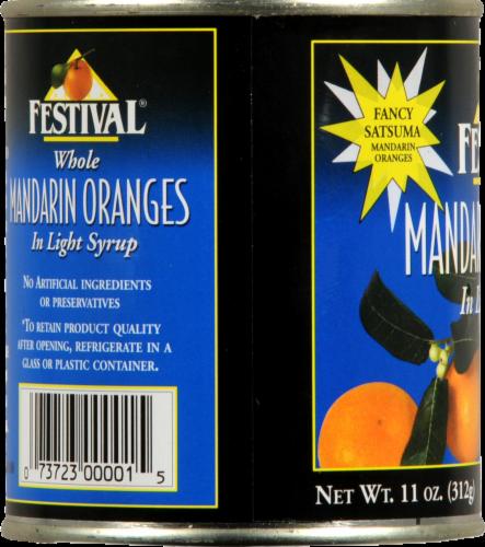 Festival Mandarin Oranges in Light Syrup Perspective: left