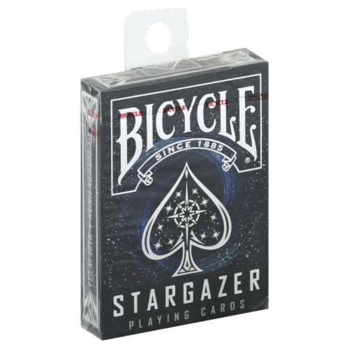 Bicycle® Stargazer Playing Cards Perspective: left